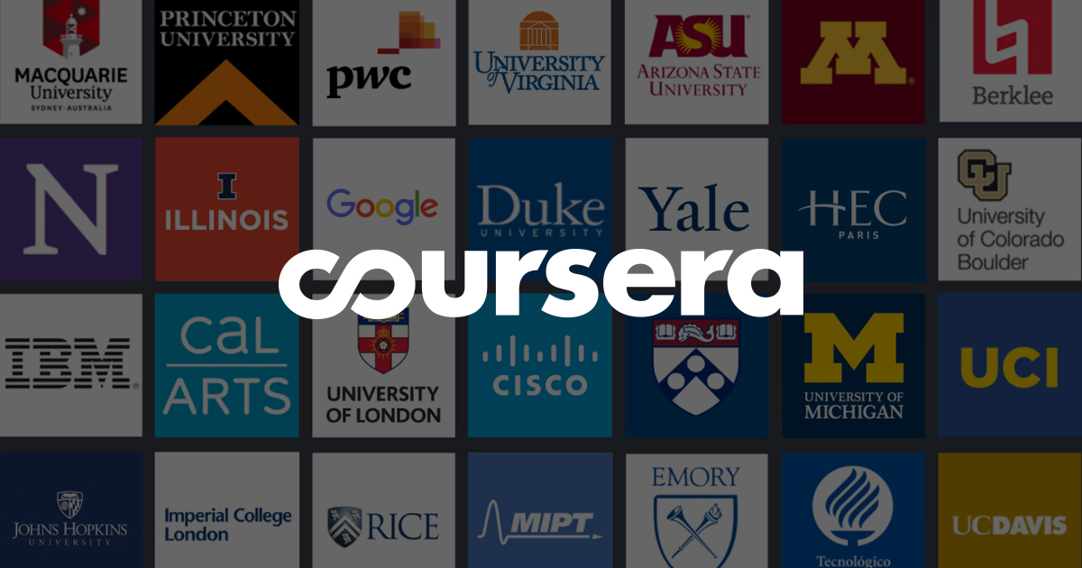 Coursera : renforcement de la formation en ligne !